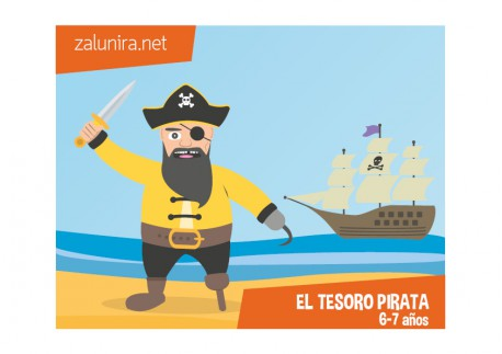 El tesoro pirata - 6-7 años